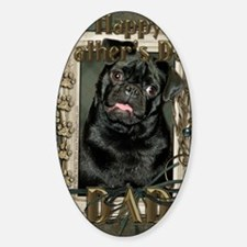 French_Quarters_Pug_Dad Decal