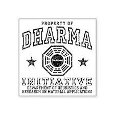"Prop Dharma Square Sticker 3"" x 3"""