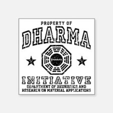 "Prop Dharma Square Sticker 3"" x 3"""