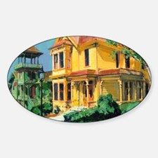 Bushy Head House and Sherman Gilber Decal