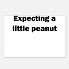 EXPECTING A LITTLE PEANUT Postcards (Package of 8)