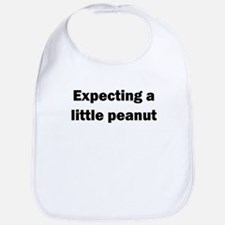 EXPECTING A LITTLE PEANUT Bib