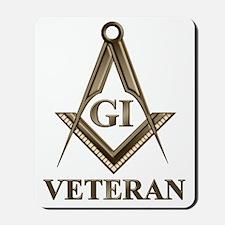 GI Veteran EMBLEM Mousepad