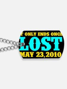Loves Lost Btn Dog Tags