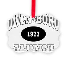 3-Owensboro 1977 Red Devils white Ornament