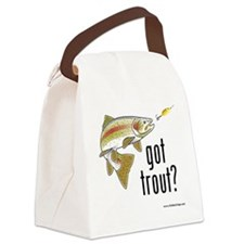 got trout 2 Canvas Lunch Bag