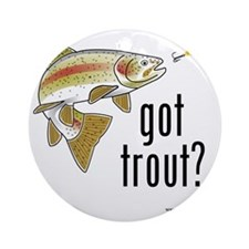 got trout 2 Round Ornament