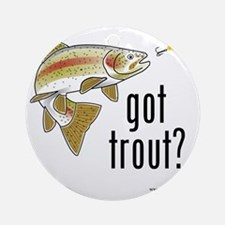 got trout 2 Round Ornament