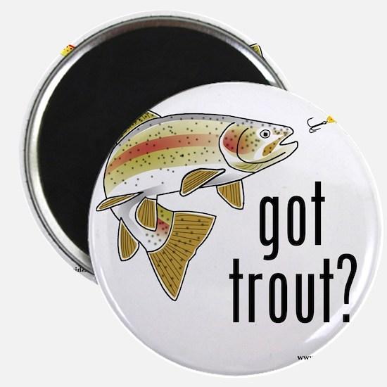 got trout 2 Magnet