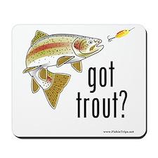 got trout 2 Mousepad