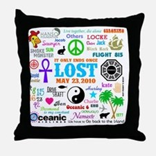 Loves Lost MP Throw Pillow