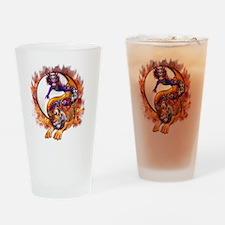 dragon tiger copy Drinking Glass