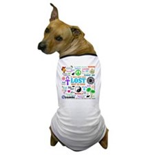 Loves Lost Note Dog T-Shirt