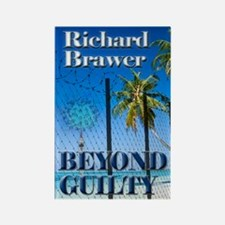 Beyond Guilty Greeting Card Rectangle Magnet
