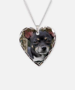 French_Quarters_Chihuahua Necklace Heart Charm