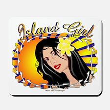 Island Girl Mousepad
