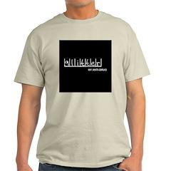 Glitter - My Anti-Drug Ash Grey T-Shirt
