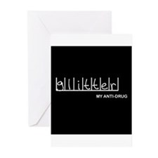 Glitter - My Anti-Drug Greeting Cards (Package of