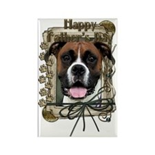French_Quarters_Boxer_Vindy Rectangle Magnet