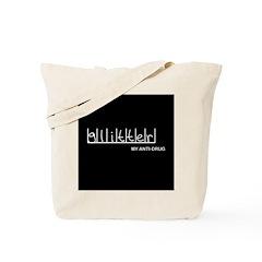 Glitter - My Anti-Drug Tote Bag