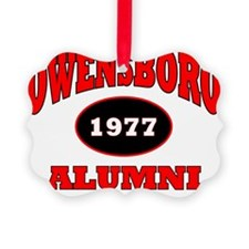 2-Owensboro 1977 Alumni red with  Ornament