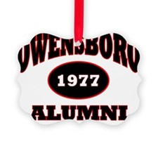 Owensboro 1977 Alumni black with  Ornament