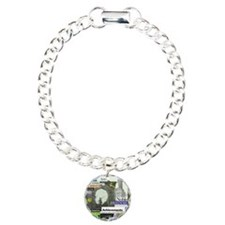 comehomeson16x20green Charm Bracelet, One Charm