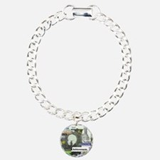 comehomeson16x20green Charm Bracelet, One Charm