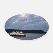 Ferry-MP Oval Car Magnet
