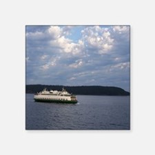 "Ferry-MP Square Sticker 3"" x 3"""
