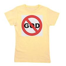 No God Girl's Tee