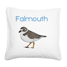 falmouth-plover Square Canvas Pillow
