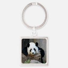 panda3-MP Square Keychain