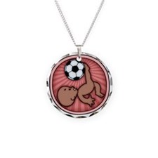 soccer-womb2-ds-T Necklace