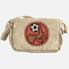 soccer-womb2-ds-T Messenger Bag