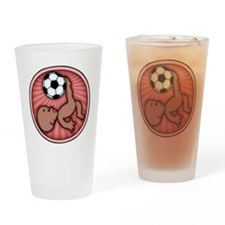 soccer-womb2-ds-T Drinking Glass