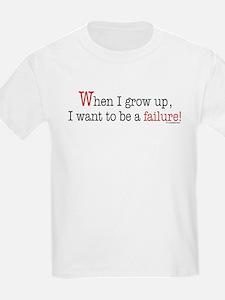 ... a failure Kids T-Shirt