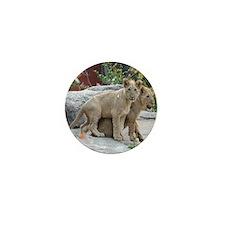 lion cubs-MP Mini Button