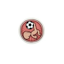 soccer-womb2-T Mini Button