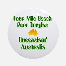 Port Douglas Ornament (Round)