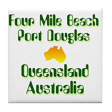 Port Douglas Tile Coaster
