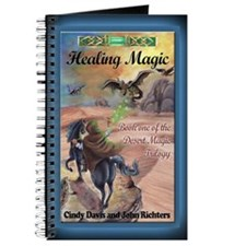 Healing Magic Greeting Card Journal