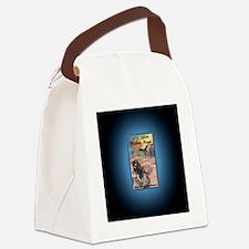 Healing Magic Button Mag Canvas Lunch Bag