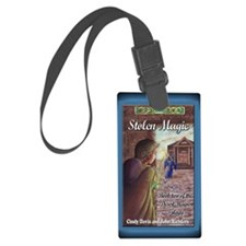 Stolen Magic Greeting Card Luggage Tag
