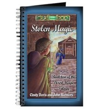 Stolen Magic Greeting Card Journal