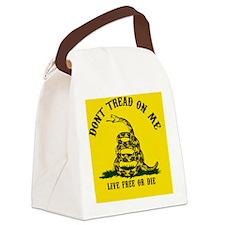 DTOM Big Btn Canvas Lunch Bag