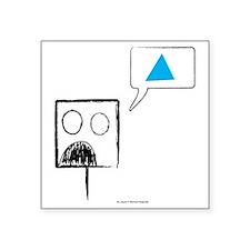 """2-SQUARE T Square Sticker 3"""" x 3"""""""