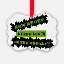 Free_Punch Ornament