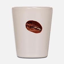Coffee For Brains - Dark Shot Glass