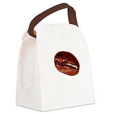 Coffee For Brains - Dark Canvas Lunch Bag